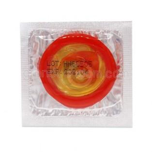 ถุงยางแฟนซี ถุงยางหลากสี กลิ่นช็อคโกแลต (Beilile Color Condom)