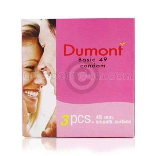 Dumont Basic 49 มม. (ถุงยางอนามัยดูมองต์ เบสิค)