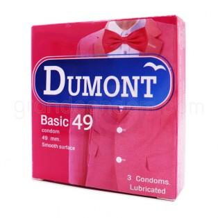 Dumont Basic ถุงยางอนามัยดูมองต์ เบสิค ราคาส่งแพค 4 โหล