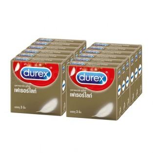 ดูเร็กซ์ เฟเธอร์ไลท์ (Durex Fetherlite) 12 กล่อง (36 ชิ้น)