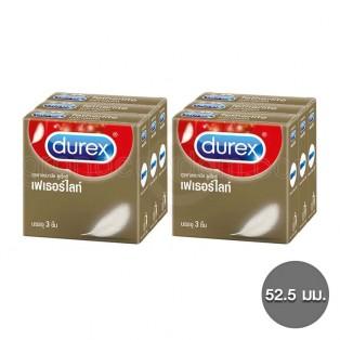 ถุงยางอนามัยดูเร็กซ์ เฟเธอร์ไลท์ 6 กล่อง (18 ชิ้น)