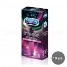 Durex Intense อินเทนส์ ออกัสมิค เจลสำหรับผู้หญิง เจลหล่อลื่น 10 มล. 1 กล่อง