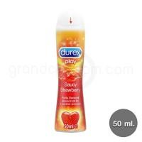 Durex Play Saucy Strawberry 50 ml. (ดูเร็กซ์ เพลย์ สตรอเบอร์รี่)