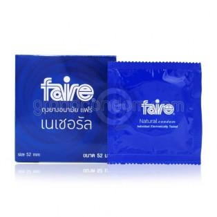 Faire Natural (ถุงยางอนามัยแฟร์ เนเชอรัล)
