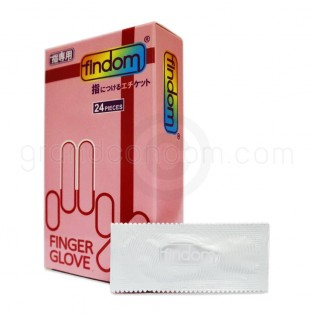 ถุงยางนิ้ว Findom Finger Glove 1 กล่อง 24 ชิ้น