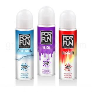 ForFun Premium 2 in 1 Massage & Lubricant สูตร Natural (เจลหล่อลื่นสูตรอ่อนโยน)