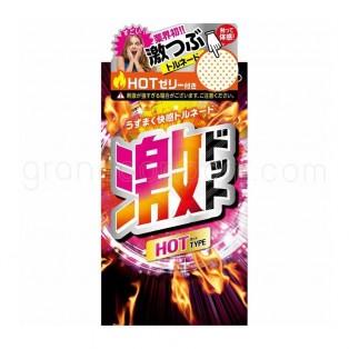 ถุงยาง Jex Geki Dot Hot jelly 1 ชิ้น
