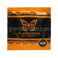 JEX Glamourous Butterfly L Size (ถุงยางอนามัยเจ็กซ์ แกลมเมอรัส บัทเทอร์ฟลาย แอล ไซส์)