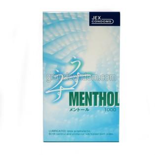 JEX Menthol (ถุงยางอนามัยเจ็กซ์ เมนทอล)