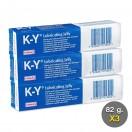 KY Jelly Gleitgel Steril 82 g. (เควาย เจลลี่ 82 กรัม แพ็ค 3 กล่อง)
