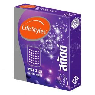 LifeStyles Studded (ถุงยางอนามัยไลฟ์สไตล์ สตัดด์)