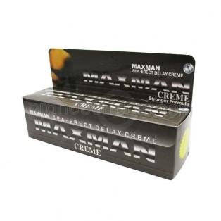 Maxman Delay Cream (ครีมนวดเพิ่มขนาด ชะลอการหลั่ง)