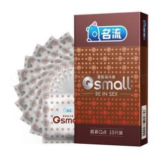 ถุงยางไซส์เล็กมีปุ่ม 45 มม. Ming Liu Small Dot 1 ชิ้น