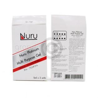 Nuru Platinum Gel 5 ml (นูรุ แพลททินัม เจล)