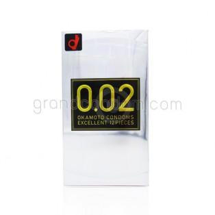 Okamoto 002 Excellent M size (ถุงยางอนามัยโอกาโมโต้ 002) (1 ชิ้น)