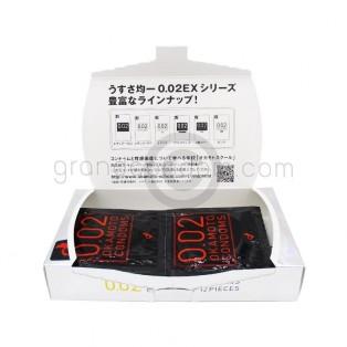 Okamoto 002 Excellent M size (ถุงยางอนามัยโอกาโมโต้ 002)