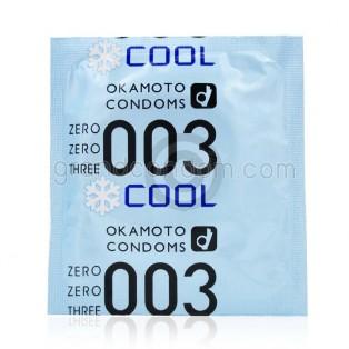 Okamoto 003 Cool (ถุงยางอนามัยโอกาโมโต 003 คูล)