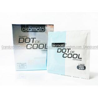 Okamoto Dot de Cool (ถุงยางอนามัยโอกาโมโต ดอท เดอ คูล)