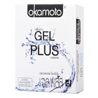Okamoto Gel Plus (ถุงยางอนามัยโอกาโมโต เจล พลัส)