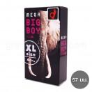 ถุงยางโอกาโมโต 57 มม. Okamoto mega big boy (1 กล่อง 12 ชิ้น)