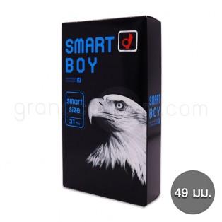 ถุงยางโอกาโมโต้ 49 มม. Okamoto Smart Boy (1 กล่อง 12 ชิ้น)