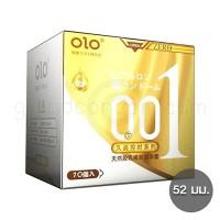 olo 001 สูตรผิวไม่เรียบ แบบมีขีดและปุ่ม 1 กล่อง (10 ชิ้น)