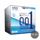 olo condom 001 สูตรผิวเรียบลื่น 1 กล่อง (10 ชิ้น)