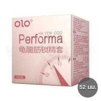 olo Performa ถุงยางหลั่งช้า 1 กล่อง (10 ชิ้น)