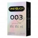 One Touch 003 (ถุงยางอนามัยวันทัช 003 กล่องใหญ่ 12 ชิ้น)