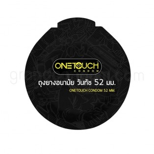 ถุงยางอนามัย One Touch 52 มม. Limited Edition (วันทัช 52 มม. 12 ชิ้น)