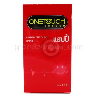 One Touch Happy (ถุงยางอนามัยวันทัช แฮ็ปปี้ กล่องใหญ่ 12 ชิ้น)