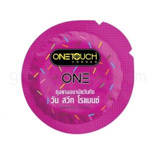 One Touch ONE Sweet Romance (ถุงยางอนามัยวันทัช วัน สวีท โรแมนซ์ 12 ชิ้น)