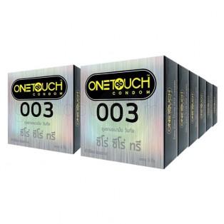 ถุงยางอนามัย One Touch 003 วันทัช 003 (12 กล่อง 36 ชิ้น)