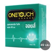 One Touch Joys 49 มม. (ถุงยางอนามัยวันทัช จอยส์ ขนาด 49 มม.)