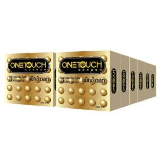 ถุงยางอนามัย One Touch Maxx Dot วันทัช แม็กซ์ ดอท 12 กล่อง (36 ชิ้น)