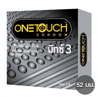 One Touch Mixx 3 (ถุงยางอนามัยวันทัช มิกซ์3)