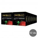 ถุงยางอนามัย One Touch Strawberry วันทัช สตรอเบอรี่ (12 กล่อง 36 ชิ้น)