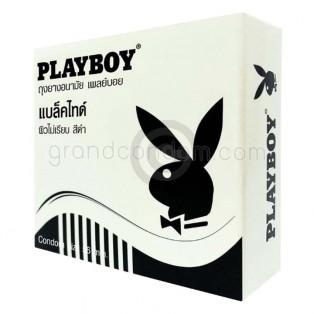 Playboy Black Tie (ถุงยางอนามัยเพลย์บอย แบล็คไทด์)