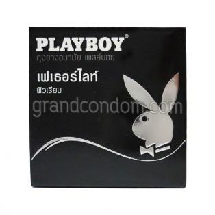 Playboy Fetherlite (ถุงยางอนามัยเพลย์บอย เฟเธอร์ไลท์)