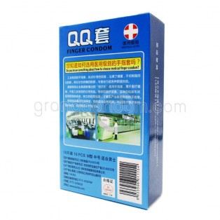 ถุงยางนิ้ว QQ คูล มิ้นท์ (1 ชิ้น)