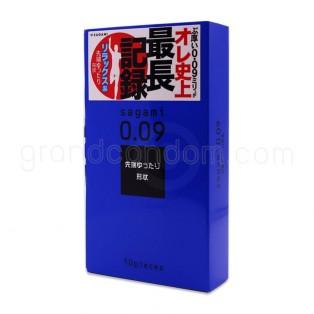 Sagami 009 Natural (ถุงยางอนามัยผิวเรียบ ขนาด 52 มม.)
