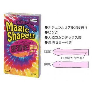 Sagami Magic Shape (ซากามิ เมจิค เชป 1 กล่อง 10 ชิ้น)