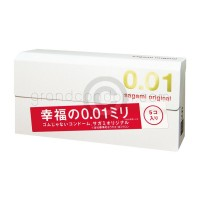 ถุงยาง 0.01 Sagami Original 0.01 ถุงยางบางที่สุดในโลก (1 กล่อง 5 ชิ้น)