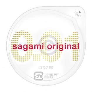 Sagami Original 0.01 (ถุงยางอนามัยซากามิ 0.01) (1 ชิ้น)