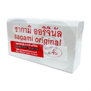Sagami Original 0.02 ขนาด 52 มม. กล่องใหญ่ 6 ชิ้น
