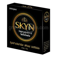 LifeStyles SKYN Original (ถุงยางอนามัยไลฟ์สไตล์ สกินน์ ออริจินัล)