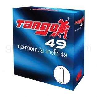Tango 49 (ถุงยางอนามัยแทงโก้ ขนาด 49 มม.) 12 กล่อง (36 ชิ้น)